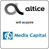 Altice N.V.,  will acquire Media Capital S.G.P.S.
