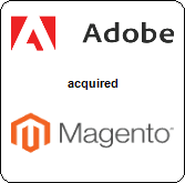 Adobe Systems Incorporated,  acquired Magento Inc.