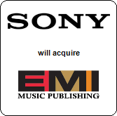 Sony Corporation of America,  will acquire EMI Music Publishing