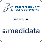 Dassault Systemes,  will acquire Medidata