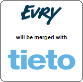 Evry AS will be merged with Tieto,