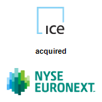 IntercontinentalExchange,  acquired NYSE Euronext