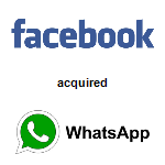 Facebook,  acquired WhatsApp