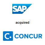 SAP America, Inc.,  acquired Concur Technologies, Inc.