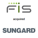 FIS,  acquired SunGard Data Systems Inc.
