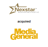Nexstar Broadcasting,  acquired Media General, Inc.