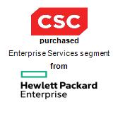 Computer Sciences Corporation,  purchased Enterprise Services segment from Hewlett Packard Enterprise