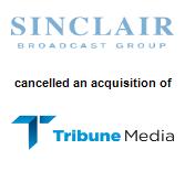 Sinclair Broadcast Group,  will acquire Tribune Media Company