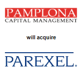 Pamplona Capital Management LLP,  will acquire PAREXEL International Corporation