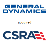 General Dynamics,  acquired CSRA Inc