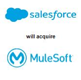 Salesforce.com, Inc.,  will acquire MuleSoft