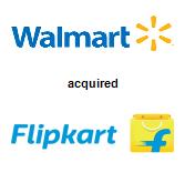 Walmart,  will acquire Flipkart Online Services Pvt Ltd