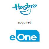 Hasbro, Inc.,  will acquire Entertainment One Ltd
