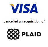 Visa, Inc.,  will acquire Plaid Technologies, Inc.
