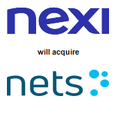 Nexi S.p.A.,  will acquire Nets Holding A/S