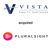 Vista Equity Partners,  acquired Pluralsight